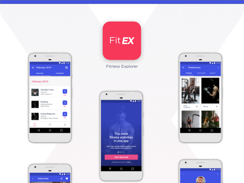 ronnystudio-FitEX Android App for your Android App with source code-ronny studio