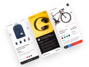 How to make eCommerce app in the android studio-ECommerce-Product-XML Layout UI