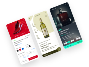 ecommerce app in the android studio-ECommerce-Product-XML Layout UI