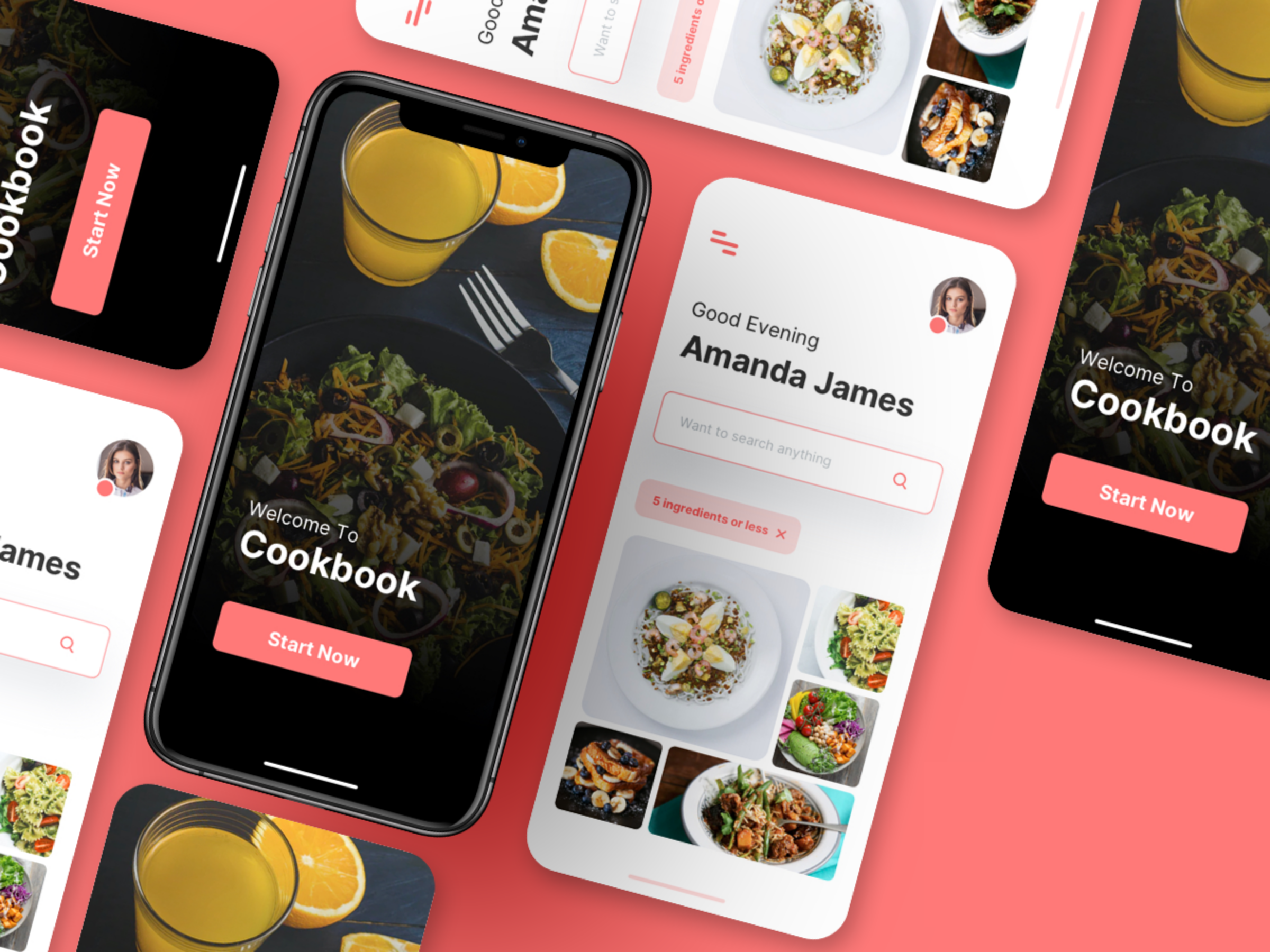Free food app -roony studio- android free xml layout-android studio